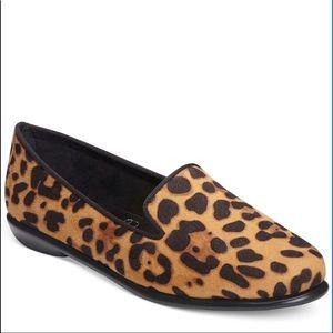 Aerosoles Betunia Leopard Print calf hair flats